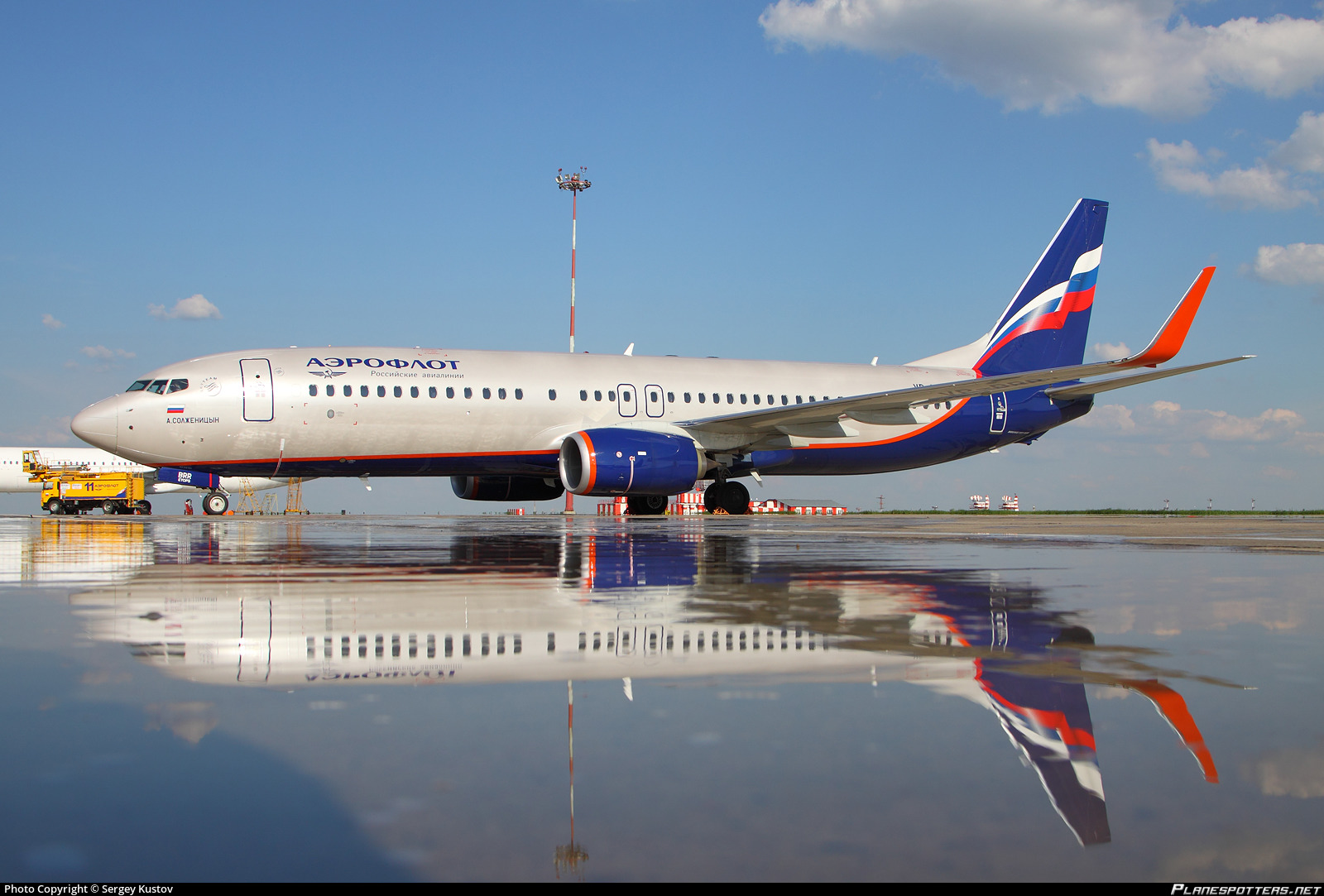 VP-BRR Aeroflot - Russian Airlines Boeing 737-8LJ(WL) photographed at Moscow Sheremetyevo (SVO / UUEE) by Sergey Kustov