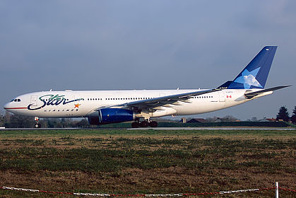 C GPTS Star Airlines Airbus A330 243
