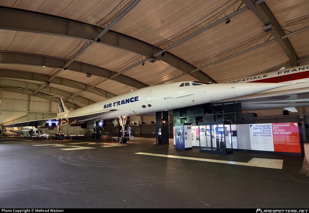 F-BTSD Air France Aérospatiale/BAC Concorde 101 photographed at Paris Le Bourget (LBG / LFPB) by Mehrad Watson