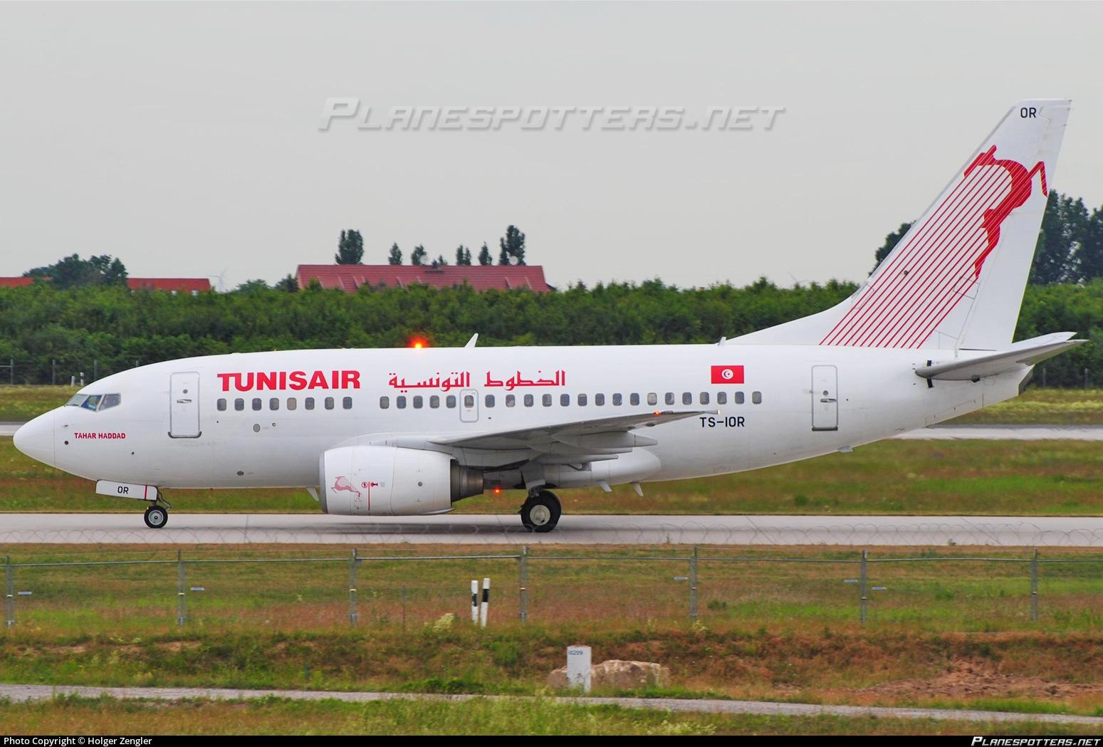 TS IOR Tunisair Boeing 737 6H3 Photo By Holger Zengler
