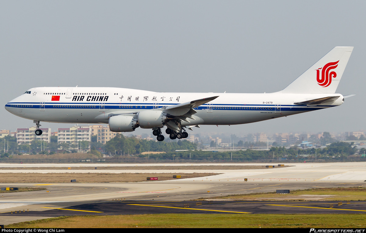 B-2479 Air China Boeing 747-89L