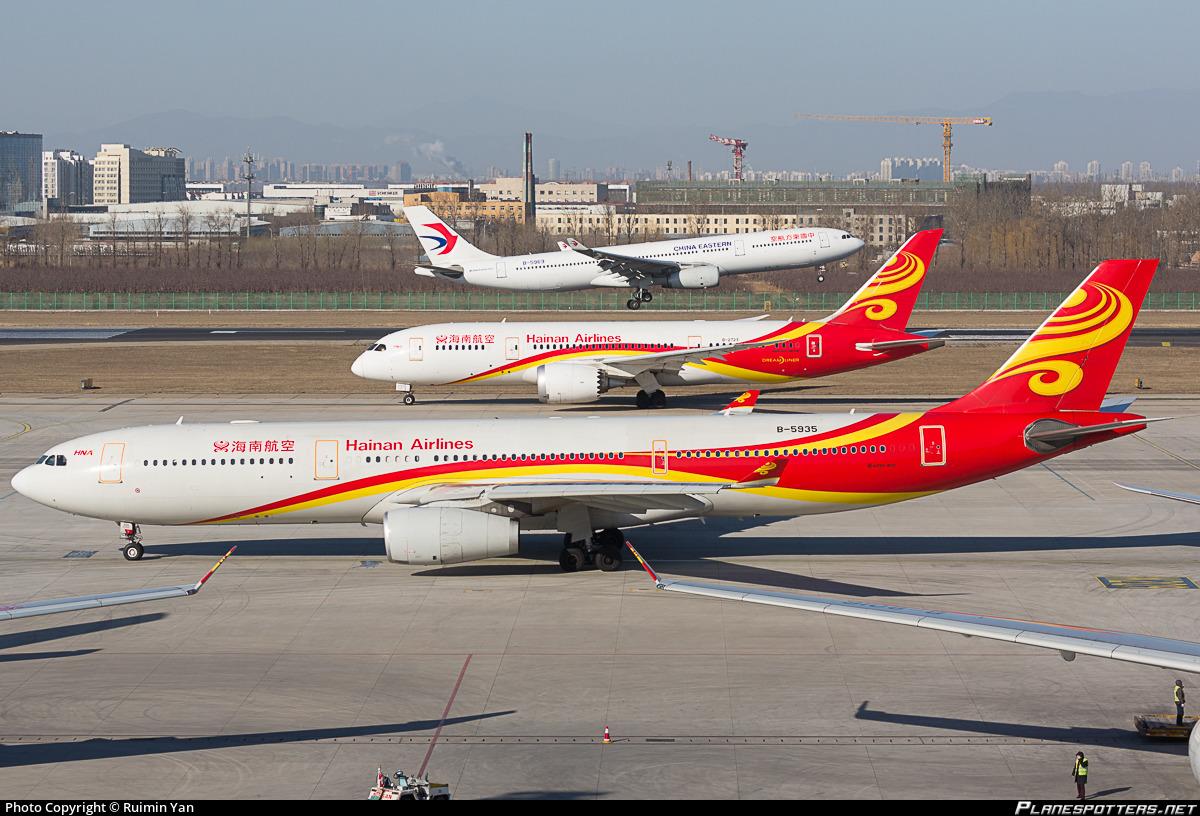 B-5935 Hainan Airlines Airbus A330-343