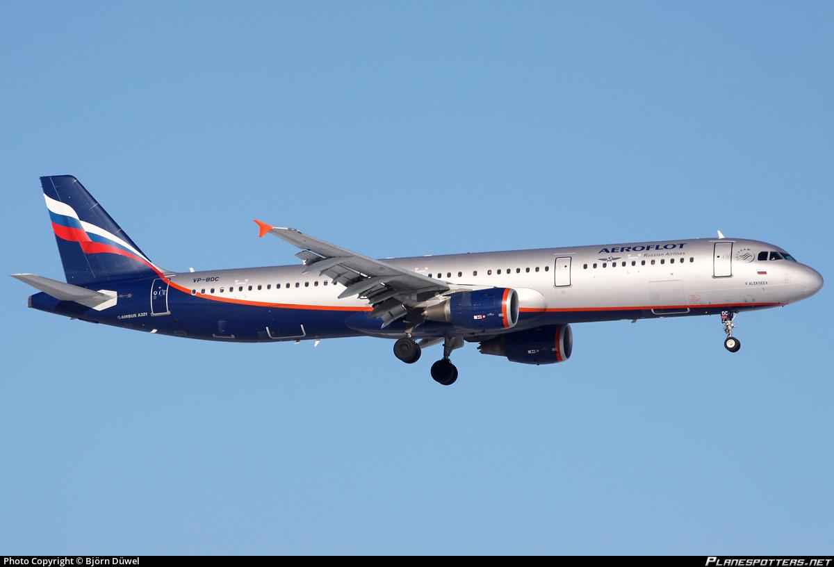 VP-BDC Aeroflot - Russian Airlines Airbus A321-211 photographed at Munich Franz Josef Strauss (MUC / EDDM) by Björn Düwel