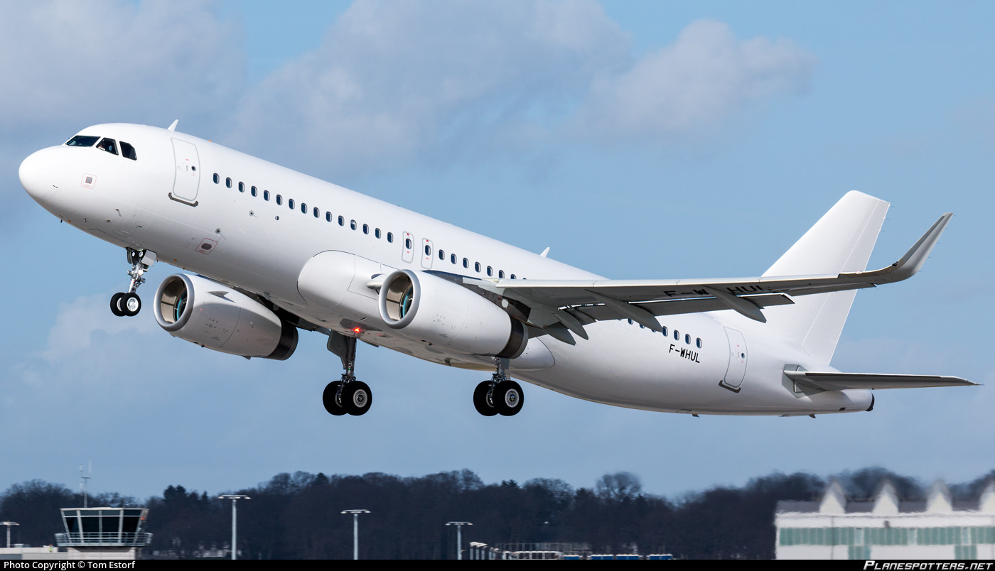 F-WHUL Airbus Industrie Airbus A320-232(WL) photographed at Hamburg Finkenwerder (XFW / EDHI) by Tom Estorf