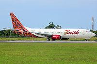 Batik air fleet details and history pk lby batik air boeing 737 8gpwl stopboris Choice Image