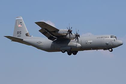 06-8611 USAF United States Air Force Lockheed Martin C-130J-30 Hercules