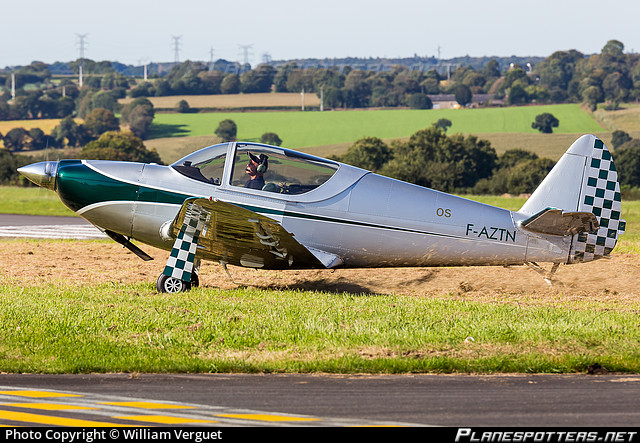 F-AZTN Private GLOBE GC-1B SWIFT Photo by William Verguet