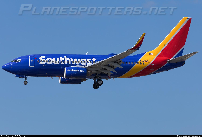 southwest flight 566