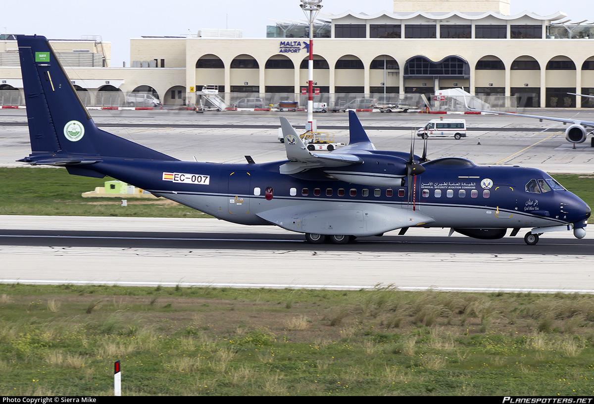 Ec 007 Saudi Arabia Ministry Of Interior Casa C 295w Asw Persuader