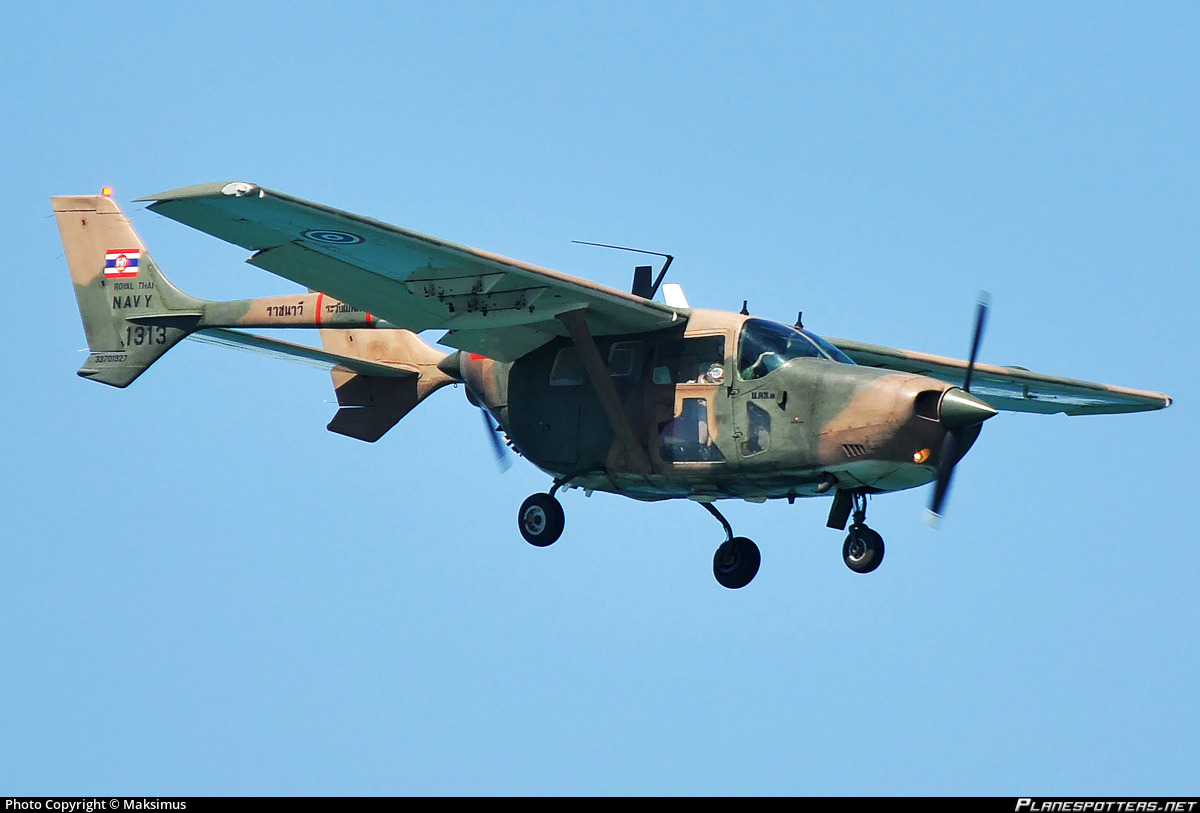 1313 Thailand - Royal Thai Navy Cessna 337H Skymaster Photo by