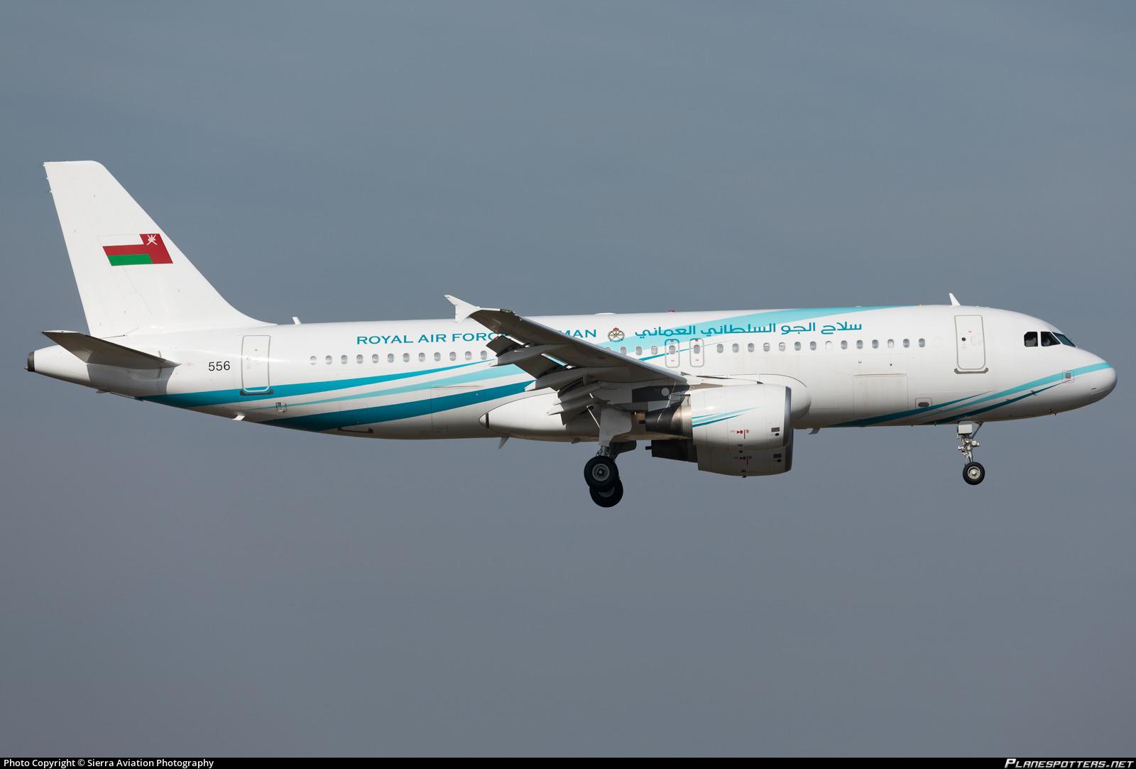 556 Royal Air Force of Oman (RAFO) Airbus A320-214(CJ) Prestige ... 08d387fc1c82