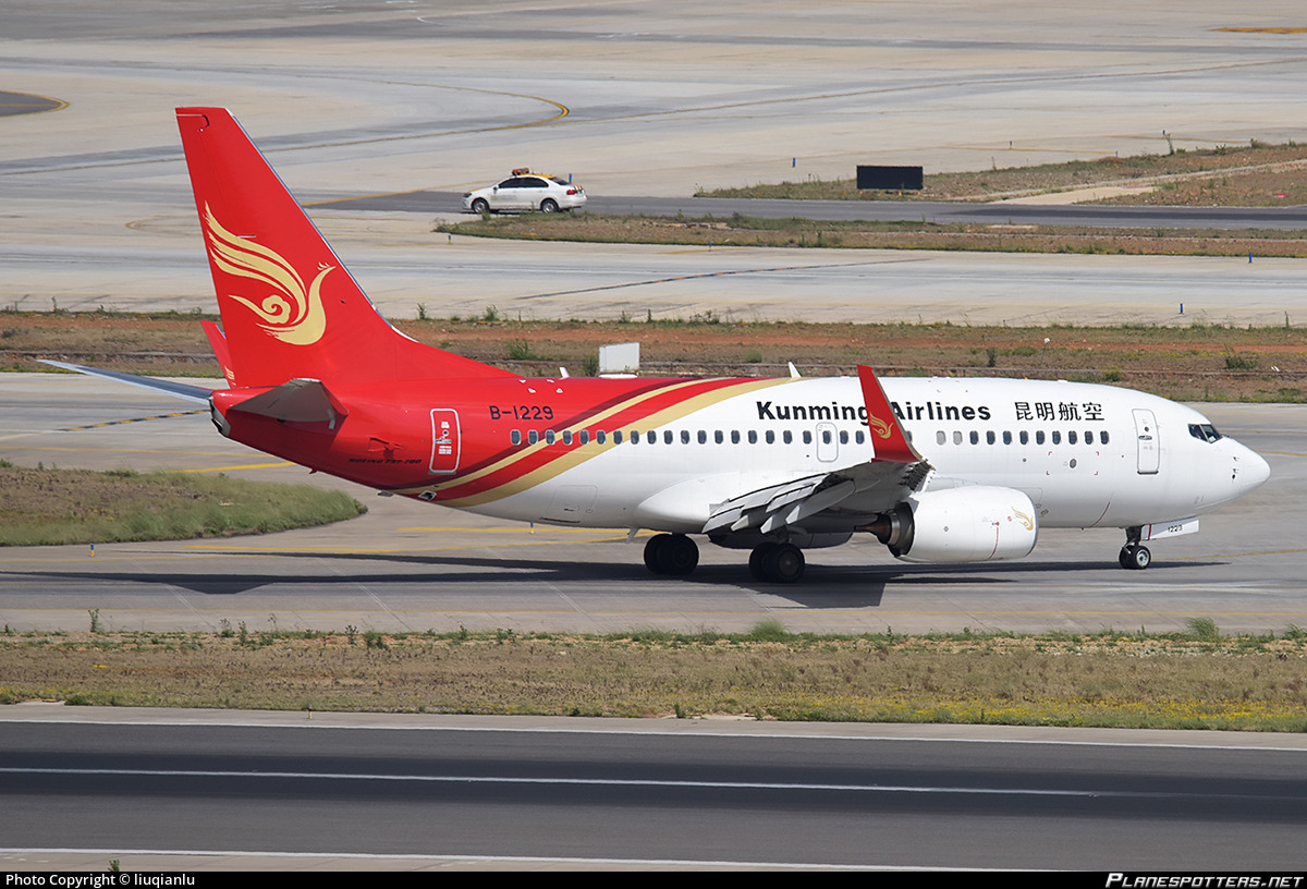 B-1229 Kunming Airlines Boeing 737-7LY(WL)