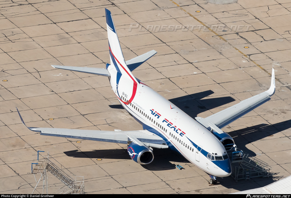 5N-BUL Air Peace Boeing 737-36N(WL) photographed at Marana Pinal Airpark (MZJ / KMZJ) by Daniel Grotheer
