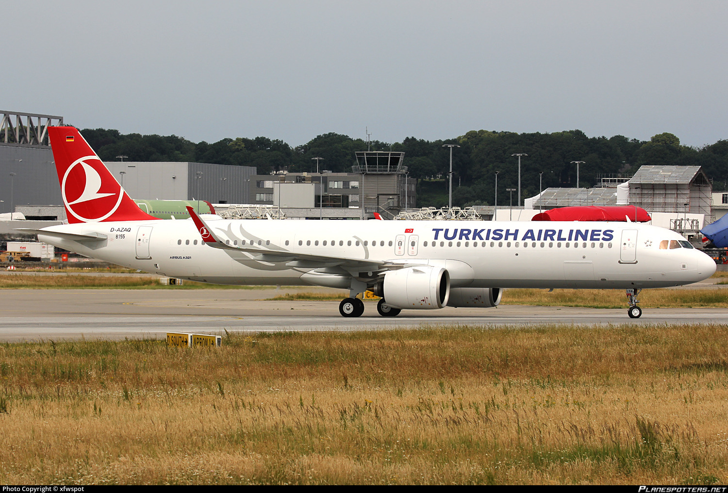 D-AZAQ Turkish Airlines Airbus A321-271NX photographed at Hamburg Finkenwerder (XFW / EDHI) by xfwspot