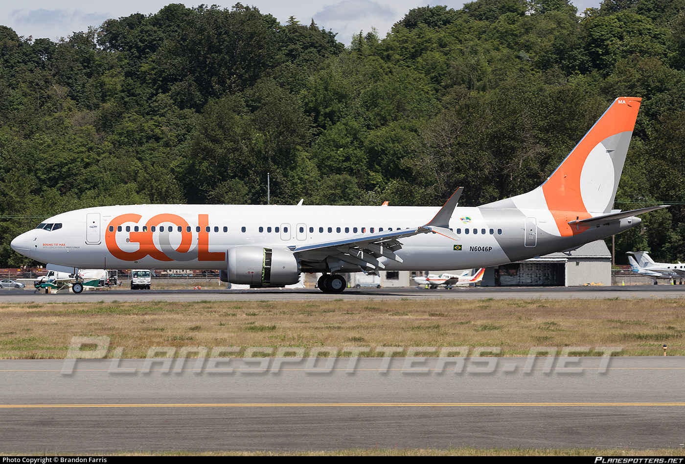 N6046P Boeing Boeing 737-8 MAX photographed at Seattle Boeing Field King County International (BFI / KBFI) by Brandon Farris