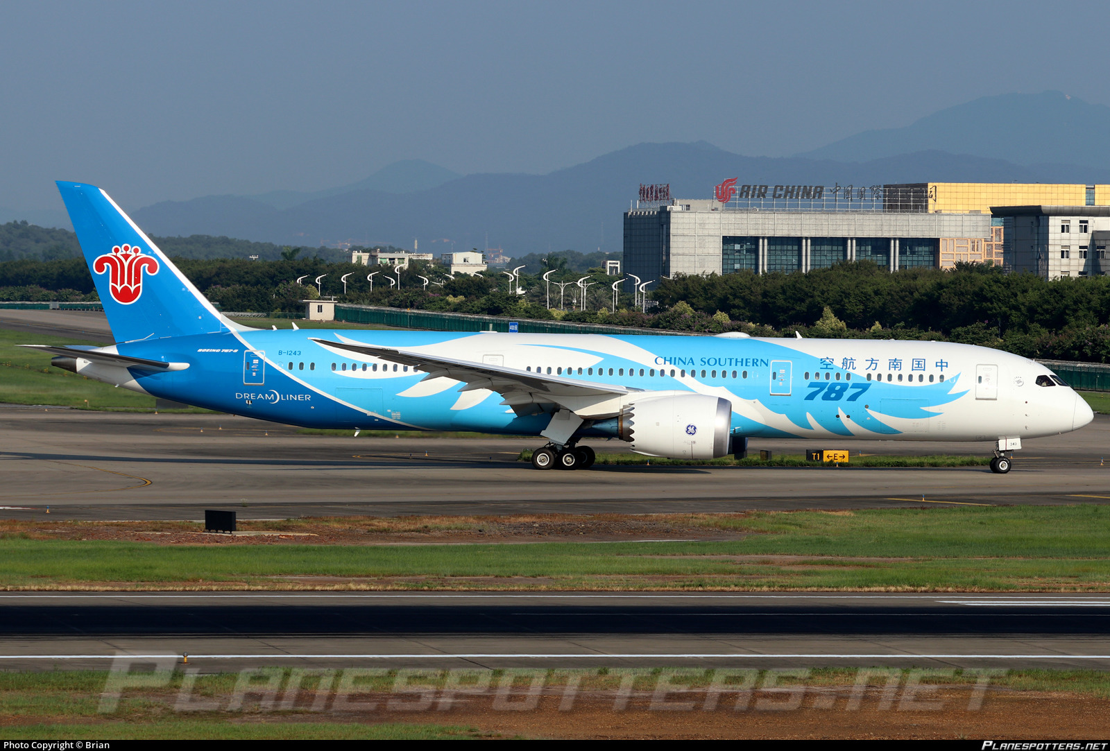 B-1243 China Southern Airlines Boeing 787-9 Dreamliner