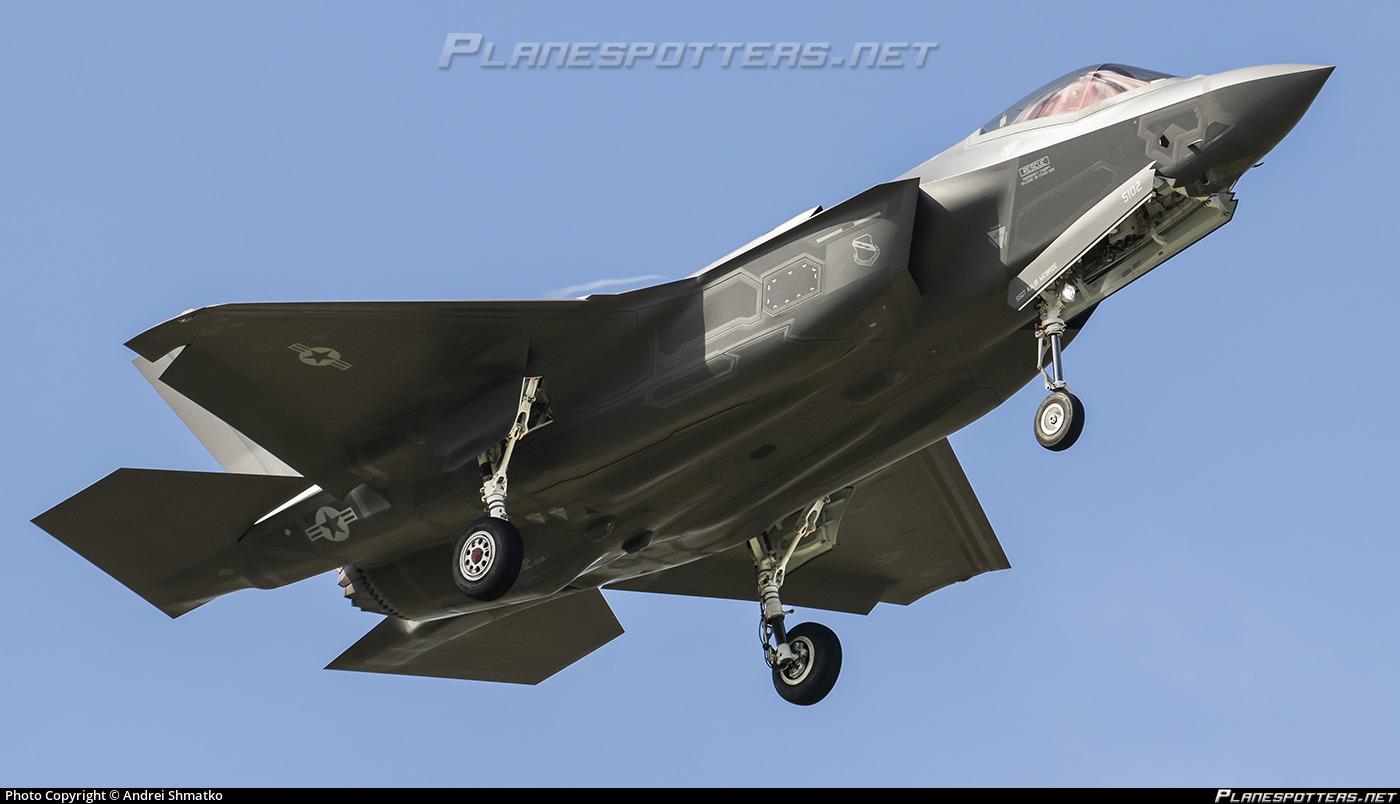 14-5102 USAF United States Air Force Lockheed Martin F-35A Lighting