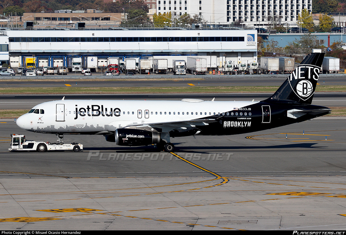N633JB JetBlue Airways Airbus A320-232 photographed at New York John F. Kennedy International (JFK / KJFK) by misael ocasio hernandez International Aviation Photos
