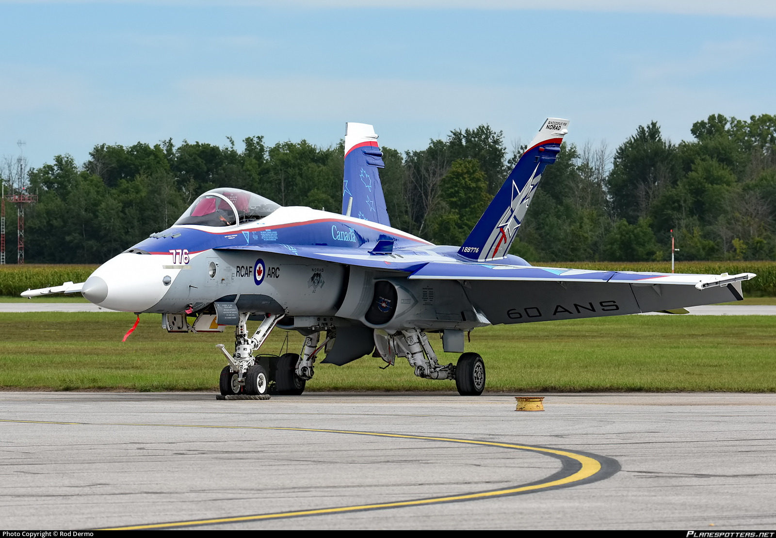 188776 Royal Canadian Airforce Mcdonnell Douglas CF-188