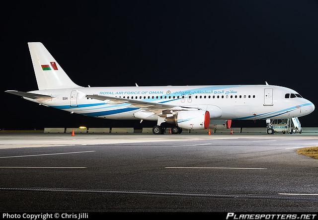 554 Royal Air Force of Oman (RAFO) Airbus A320 214(CJ