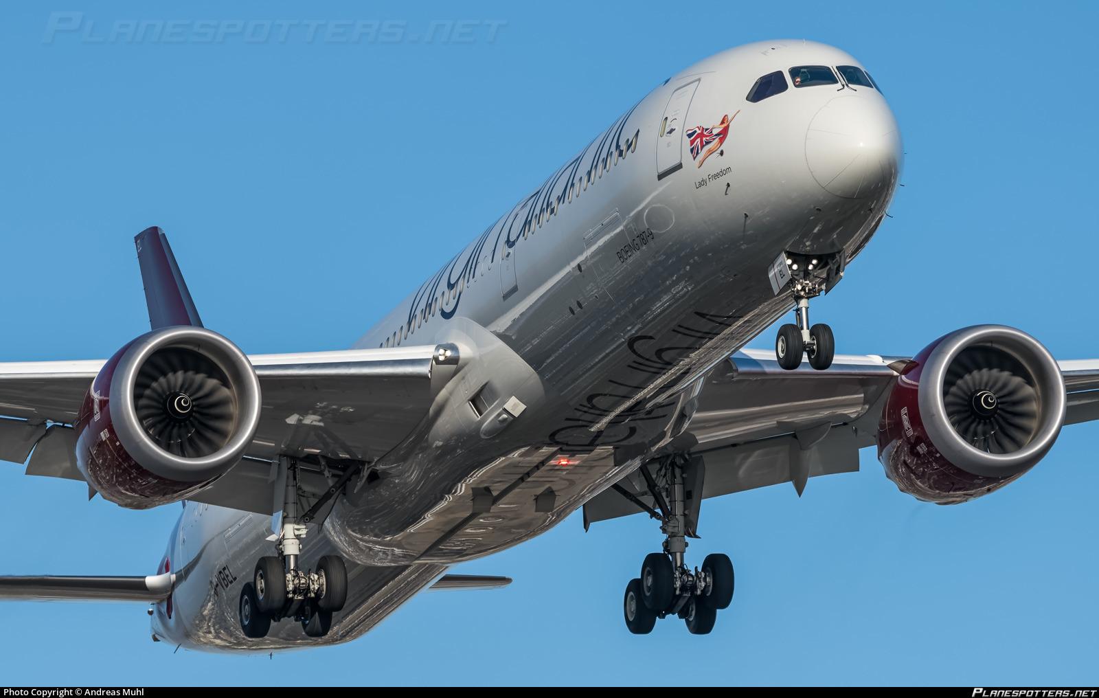 G-VBEL Virgin Atlantic Airways Boeing 787-9 Dreamliner photographed at Los Angeles International (LAX / KLAX) by Andreas Muhl