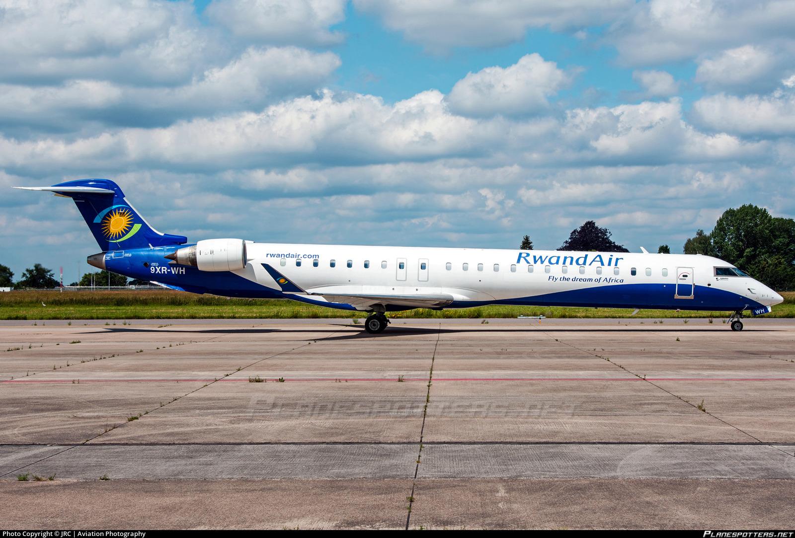 9XR-WH RwandAir Bombardier CRJ-900 (CL-600-2D24) Photo by