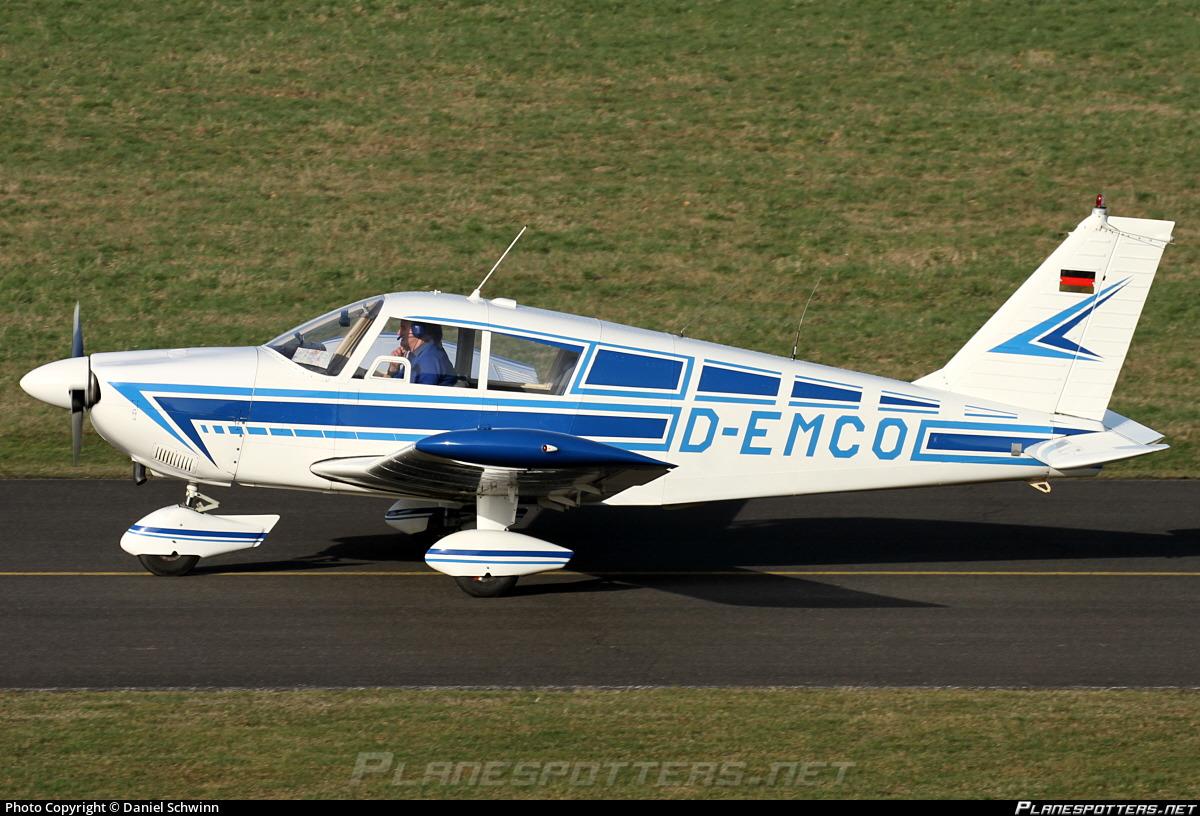 D-EMCO Blue Sky Aviation Piper PA-28-235 Cherokee Photo by