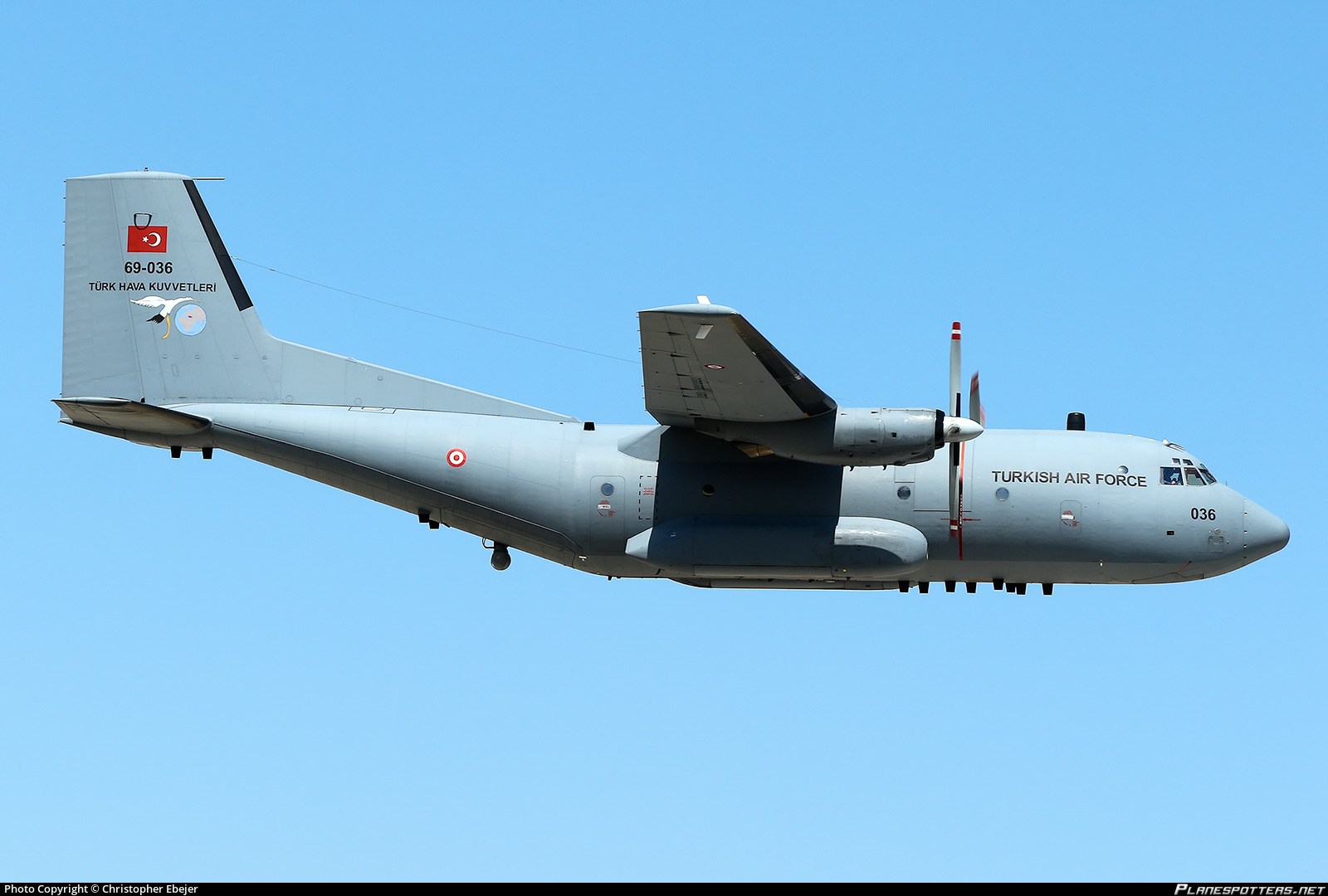 Air Force Transall C-160D Photo By